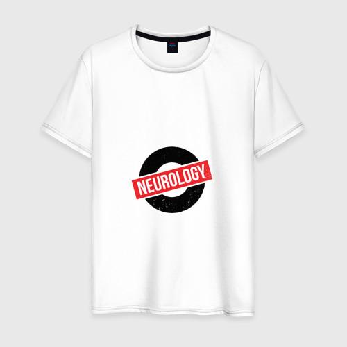 Мужская футболка хлопок Неврология