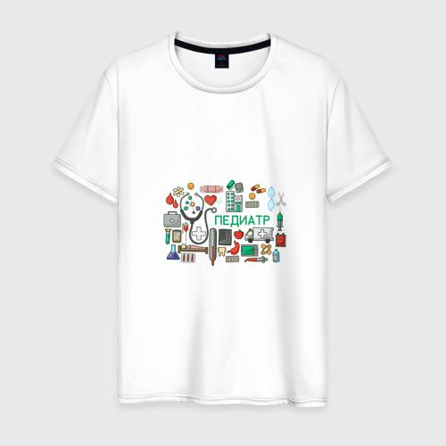Мужская футболка хлопок Детский врач