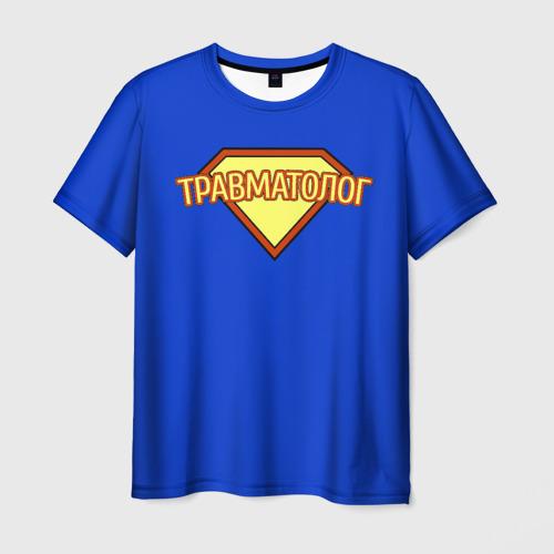 Мужская футболка 3D травматолог