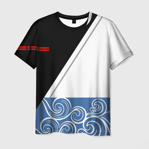 Мужская футболка 3D GINTAMA SAKATA GINTOKI