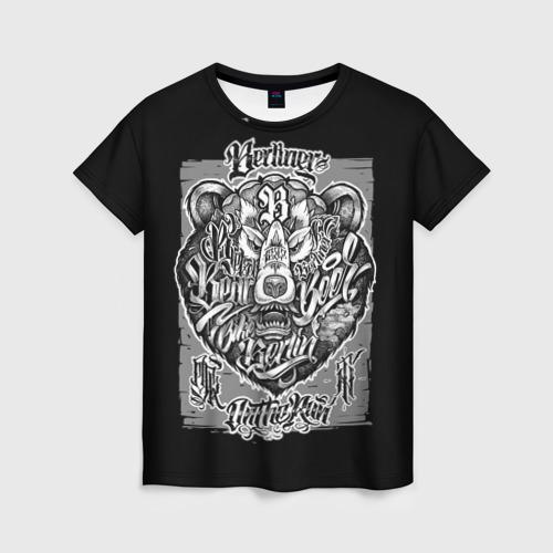 Женская футболка 3D Berliner
