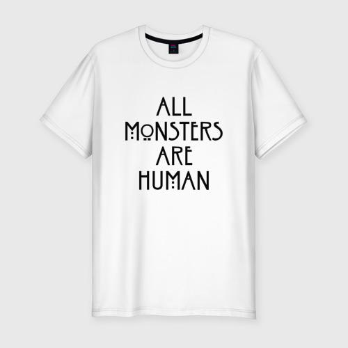 Мужская футболка хлопок Slim AMERICAN HORROR STORY