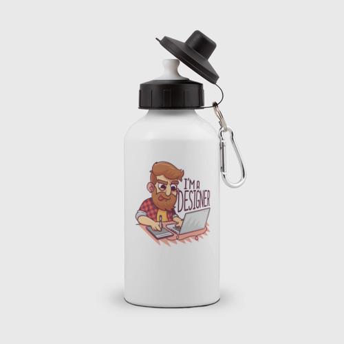 Бутылка спортивная Я Дизайнер