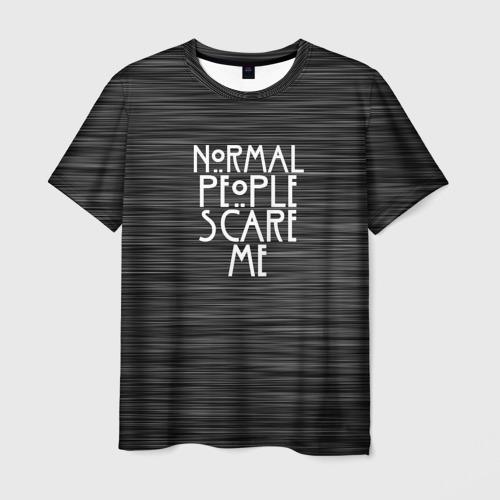 Мужская футболка 3D СВИТЕР AHS