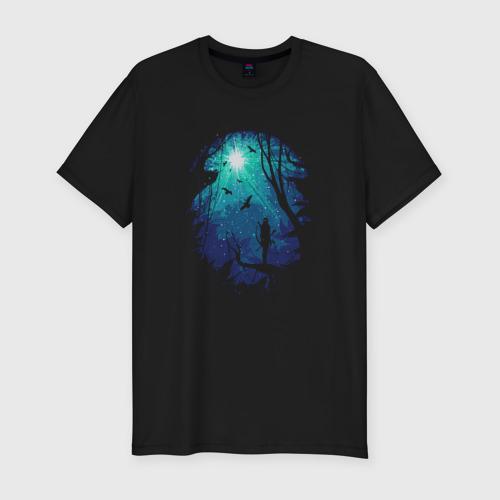 Мужская футболка хлопок Slim Свет падших