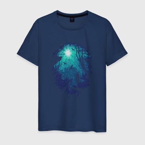 Мужская футболка хлопок Свет падших