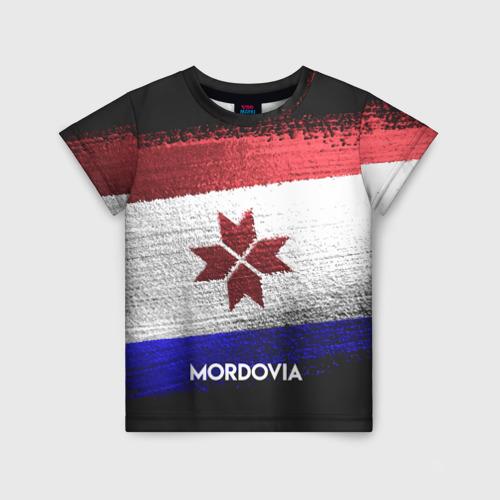 Детская футболка 3D MORDOVIA(Мордовия)