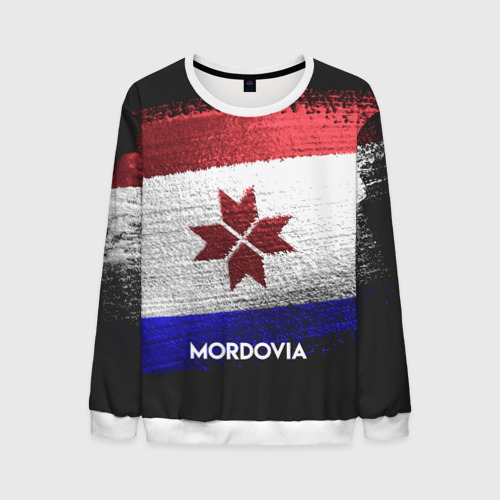 Мужской свитшот 3D MORDOVIA(Мордовия)