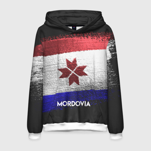 Мужская толстовка 3D MORDOVIA(Мордовия)