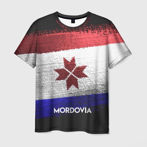 Мужская футболка 3D MORDOVIA(Мордовия)