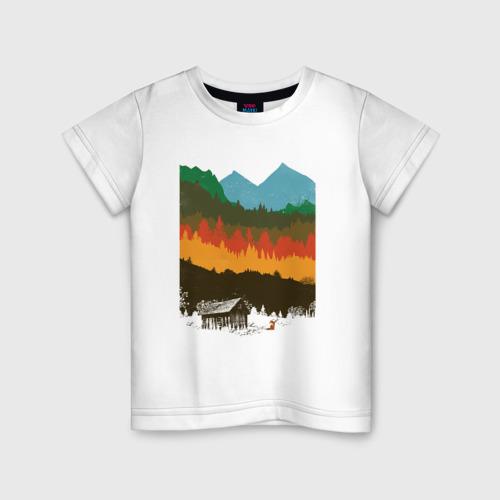 Детская футболка хлопок Дикая природа