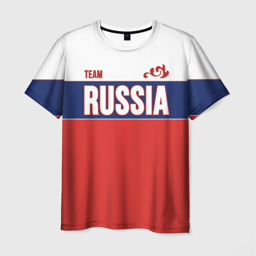 Мужская футболка 3D Team Russia