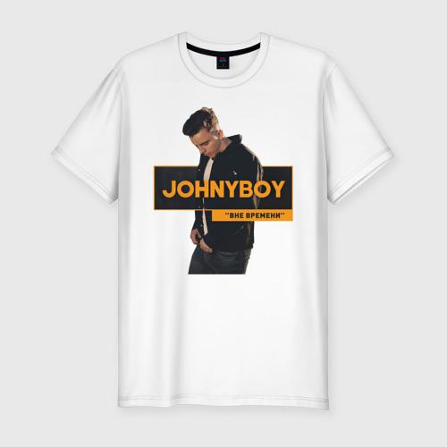 Мужская футболка хлопок Slim Johnyboy