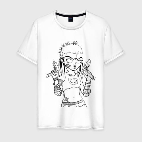 Мужская футболка хлопок Yo-landi (светлые)