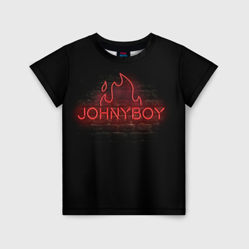 Детская футболка 3D Johnyboy