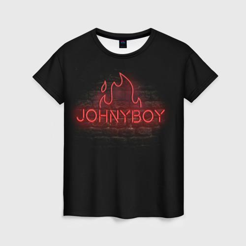 Женская футболка 3D Johnyboy