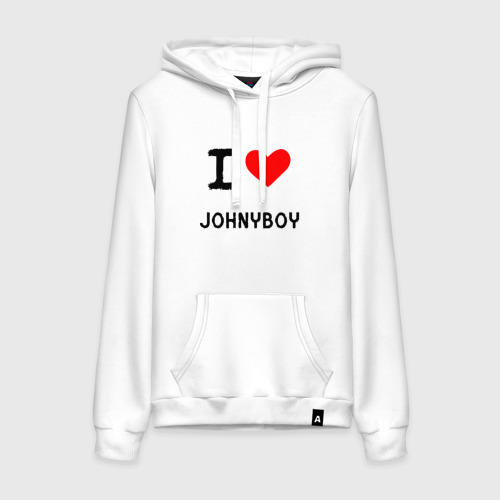 Женская толстовка хлопок  Johnyboy 8