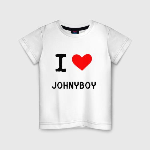 Детская футболка хлопок  Johnyboy 8