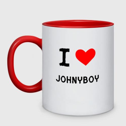 Кружка двухцветная  Johnyboy 8