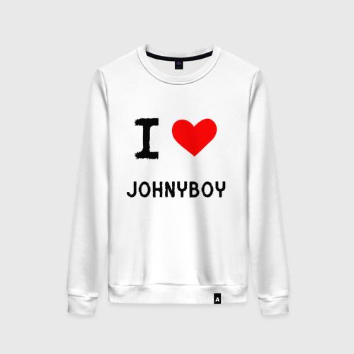 Женский свитшот хлопок  Johnyboy 8
