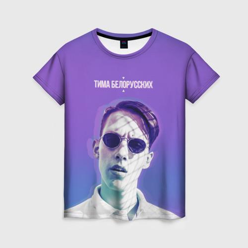 Женская футболка 3D Тима Белорусских