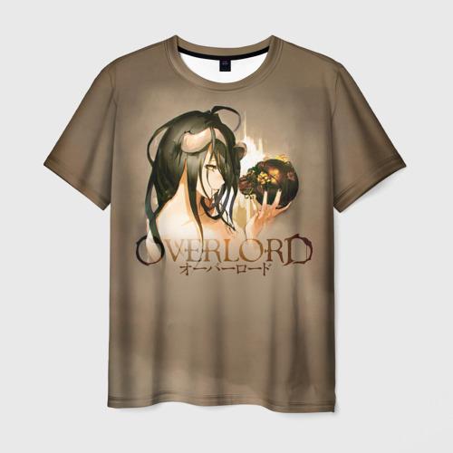 Мужская футболка 3D Overlord Albedo
