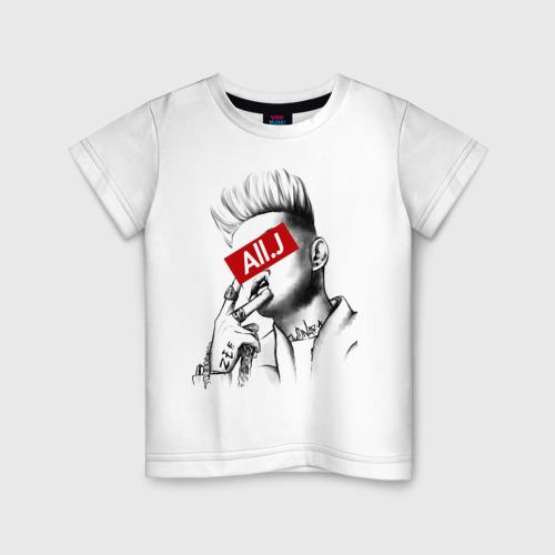Детская футболка хлопок All. J