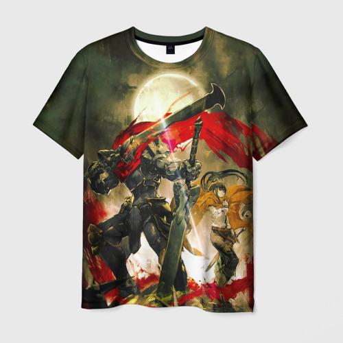 Мужская футболка 3D Momonga & Narberal Gamma