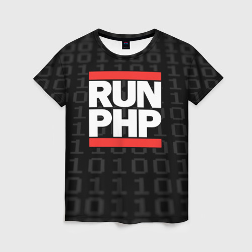 Женская футболка 3D Run PHP
