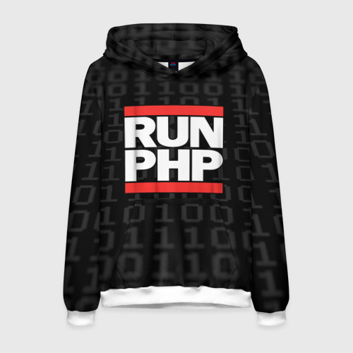 Мужская толстовка 3D Run PHP