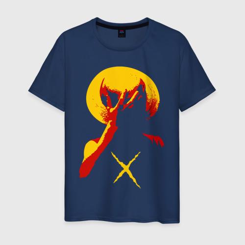 Мужская футболка хлопок Going to new world