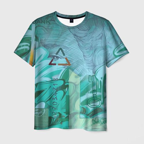 Мужская футболка 3D Euro