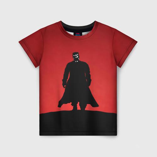 Детская футболка 3D Город грехов - Марв