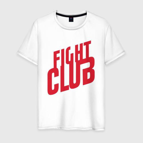 Мужская футболка хлопок Бойцовский клуб