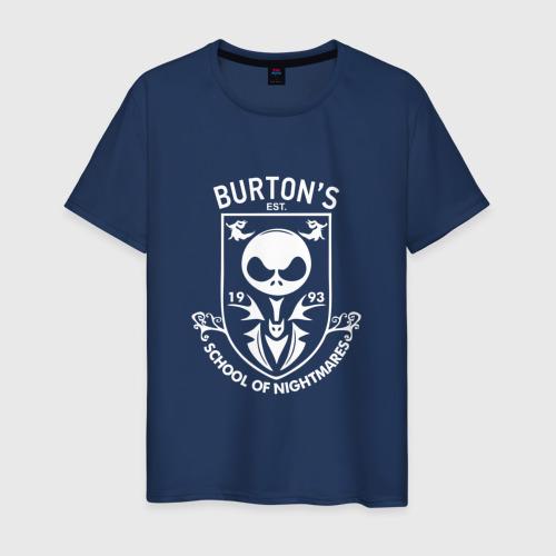 Мужская футболка хлопок Burton's School Of Nightmares