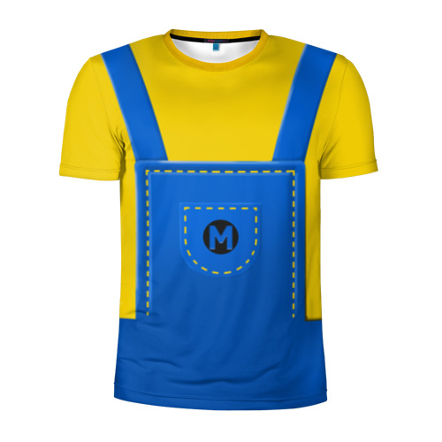 Мужская футболка 3D спортивная Костюм миньона со свитшотом