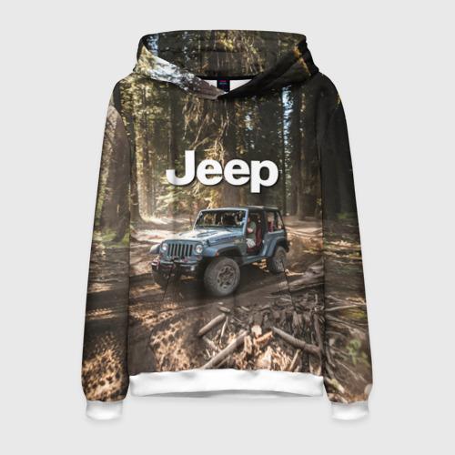 Мужская толстовка 3D Jeep