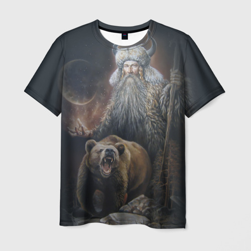 Мужская футболка 3D Велес
