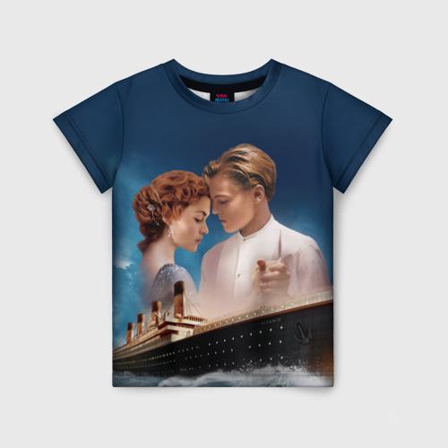 Детская футболка 3D Титаник
