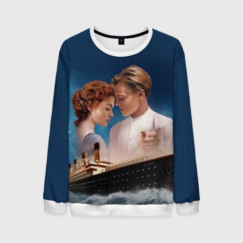 Мужской свитшот 3D Титаник