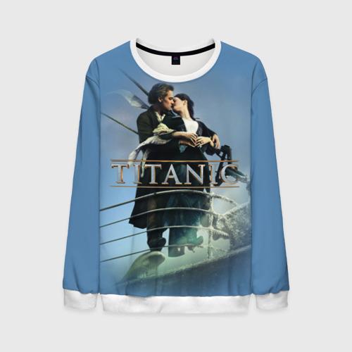 Мужской свитшот 3D Титаник постер