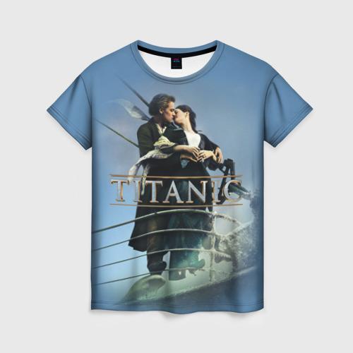 Женская футболка 3D Титаник постер