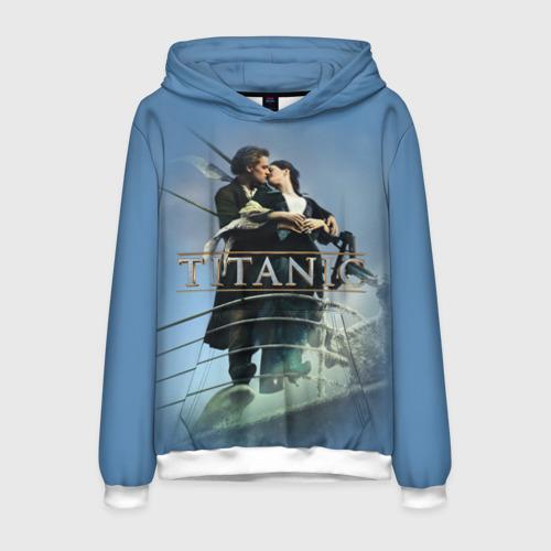 Мужская толстовка 3D Титаник постер