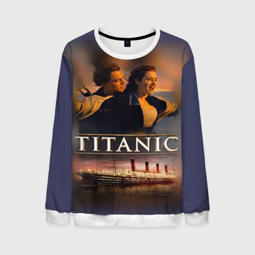 Мужской свитшот 3D Титаник Джек и Роза