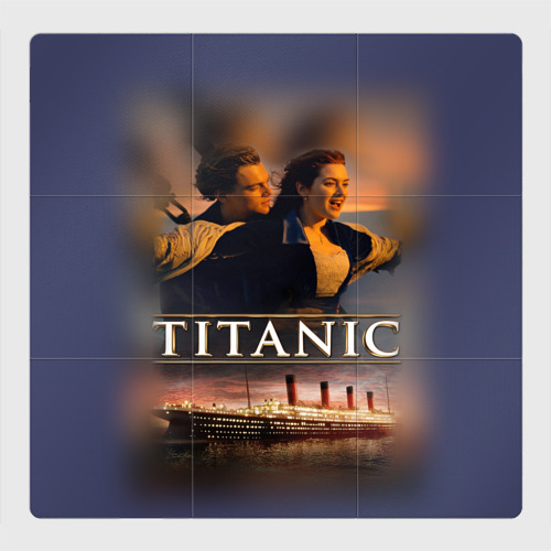 Магнитный плакат 3Х3 Титаник Джек и Роза