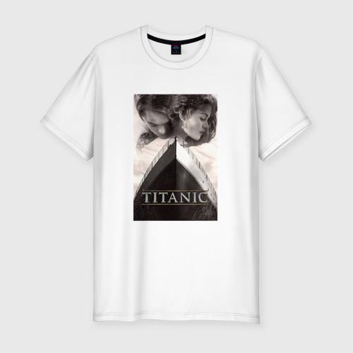 Мужская футболка хлопок Slim Титаник