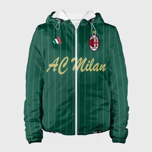 Женская куртка 3D AC Milan