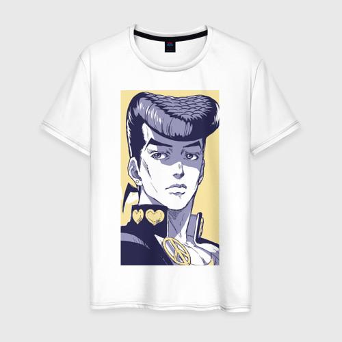 Мужская футболка хлопок Джоскэ Хигашиката