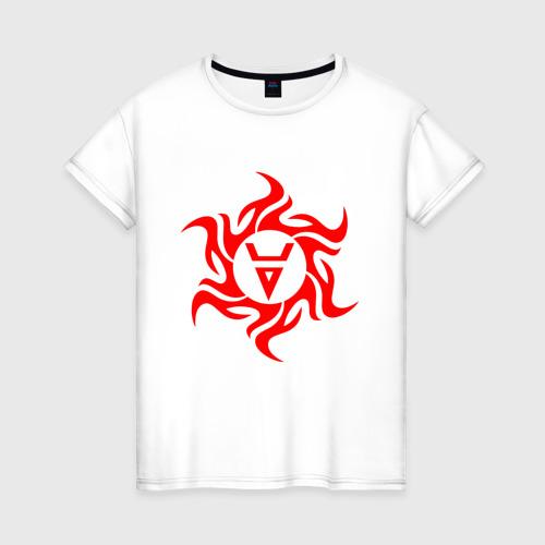Женская футболка хлопок Символ Велеса