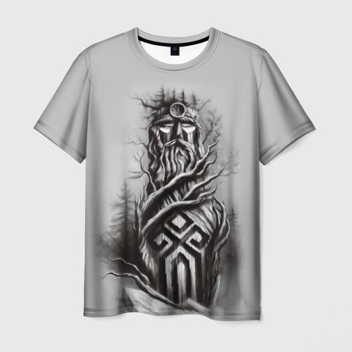 Мужская футболка 3D русь